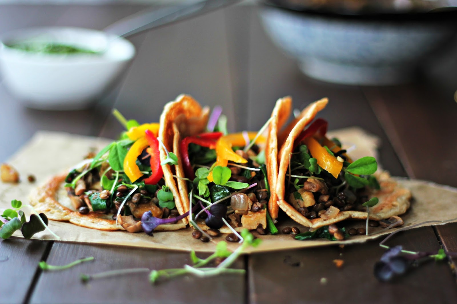 Happy Tacos with Avocado Sauce-gluten-free-recipes