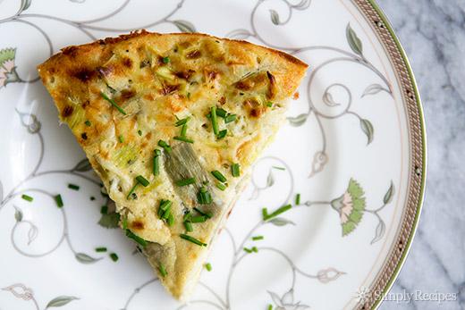 artichoke-leek-frittata-gluten-free-recipes