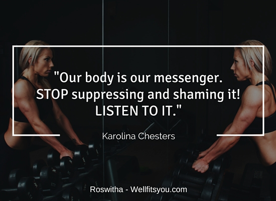 How To Appreciate Our body - Interview With Karolina Chesters-body
