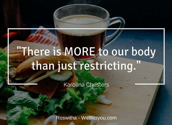 How To Appreciate Our body - Interview With Karolina Chesters-more than restricting
