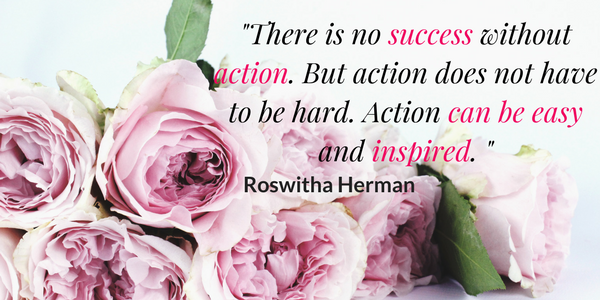 manifest success quote roswitha herman